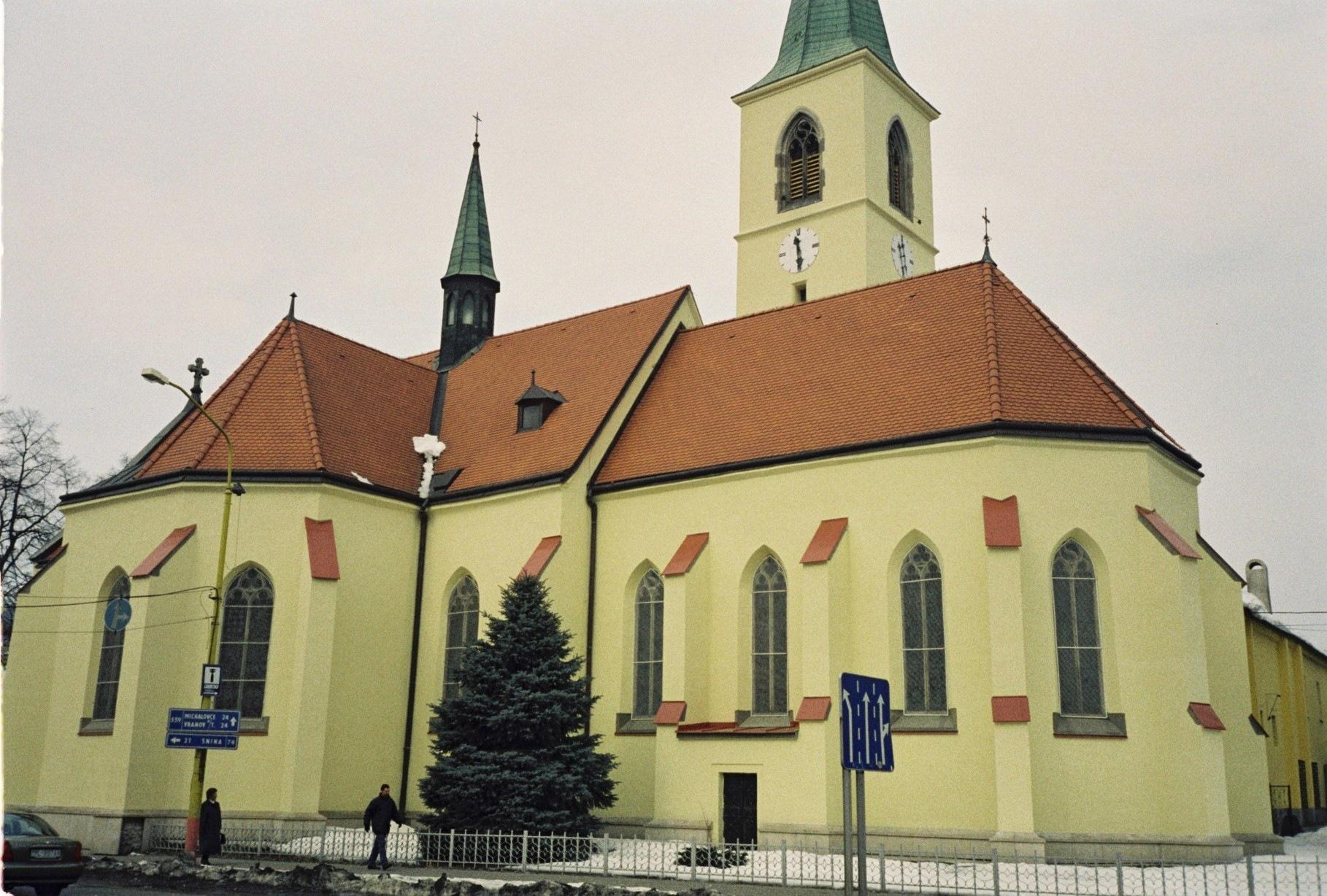 HUMENNÉ – Kostol Všetkých Svätých