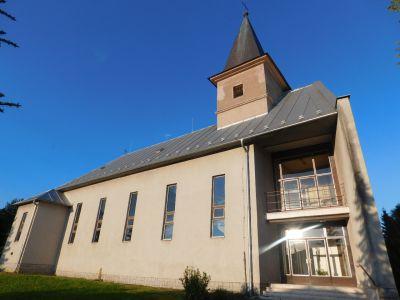 LIPNÍKY – Veža na kostole Panny Márie Ružencovej