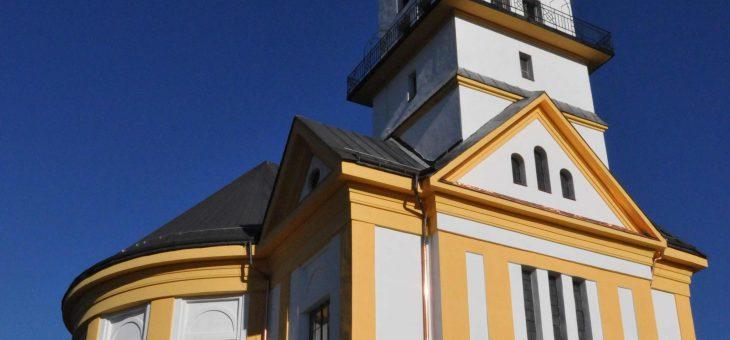ECAV Pliešovce – Rekonštrukcia fasády kostola