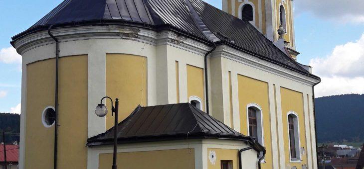 Telgárt – Gréckokatolícky Chrám Najsvätejšej Trojice; Rekonštrukcia strechy lode