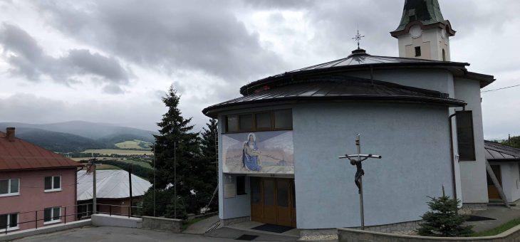 Vaniškovce – Rekonštrukcia strechy rímskokatolíckeho kostola